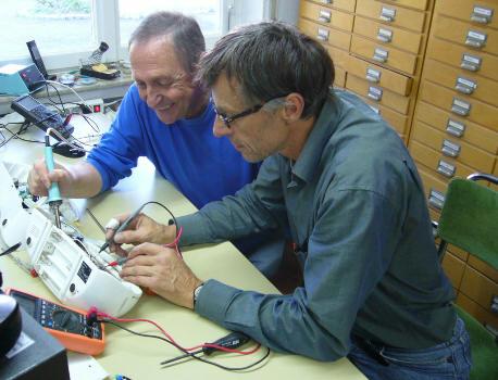Reparatur elektronische Geräte
