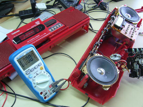 Reparatur Radios und Küchengeräte