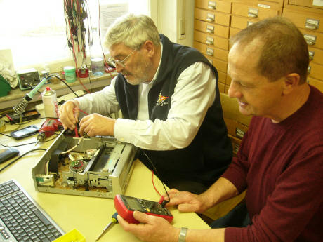 Reparatur HIFI Recorder Plattenspieler